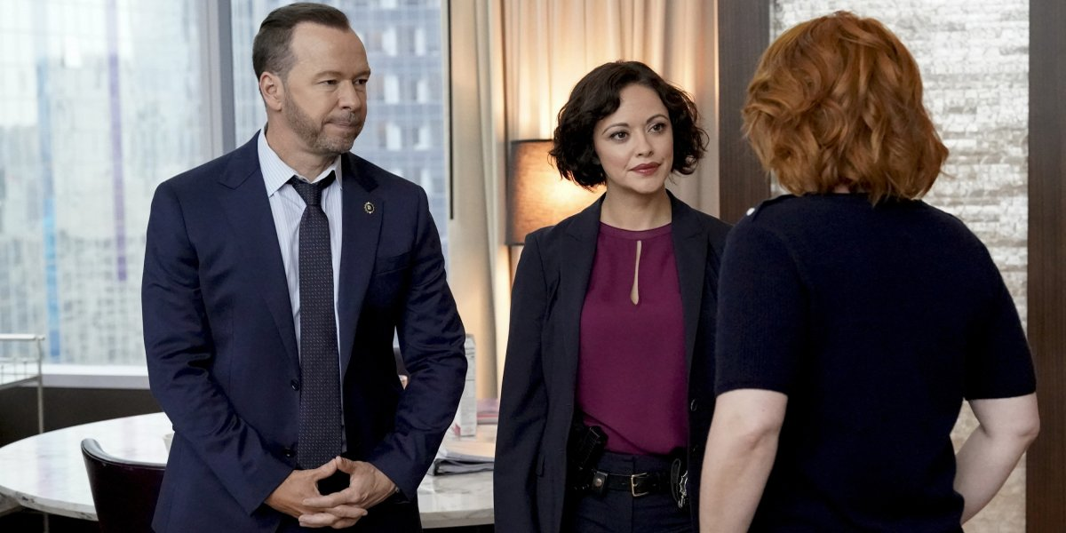 Blue Bloods Season 10 Donnie Wahlberg as Danny Reagan, Marisa Ramirez as Det. Maria Baez CBS