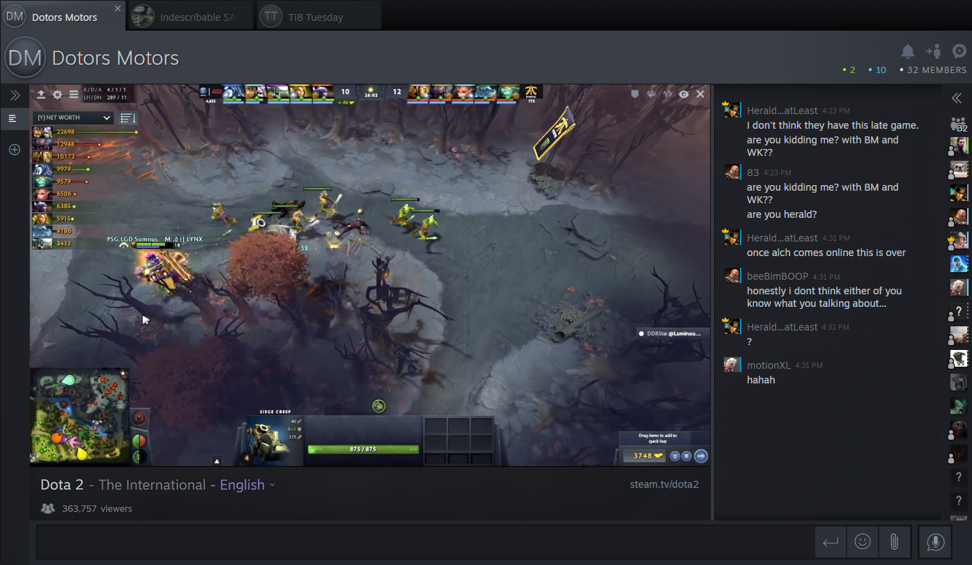 Valve's new streaming website, Steam tv, is officially live