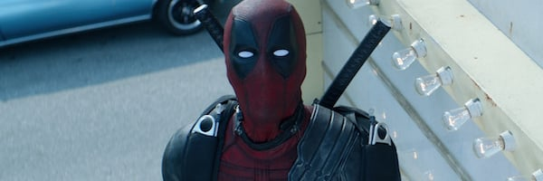 Deadpool 2 Ryan Reynolds Deadpool looks up in the sky
