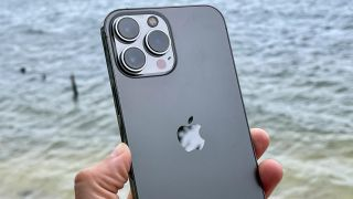 iphone 13 pro max back in hand