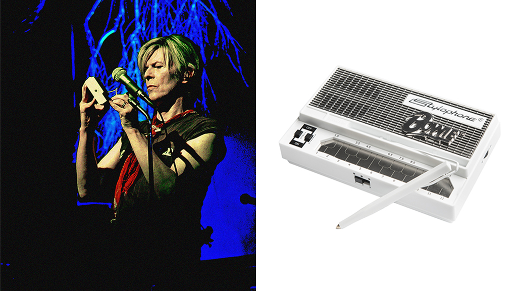 Play Space Oddity with the new limited-edition Bowie Stylophone