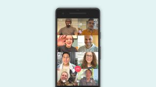 8-person video chat in WhatsApp