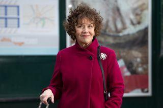 Marian McLoughlin as Hollyoaks Sue Morgan
