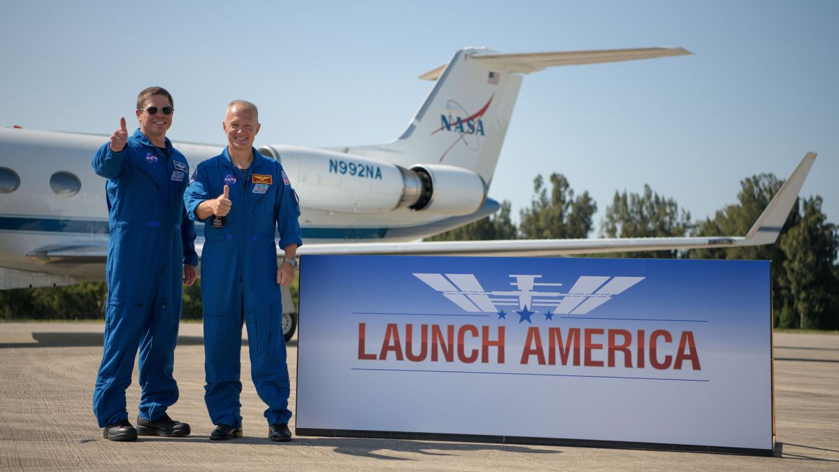 NASA is having a virtual 'Launch America' party for historic SpaceX flight. (Yes, you're invited)
