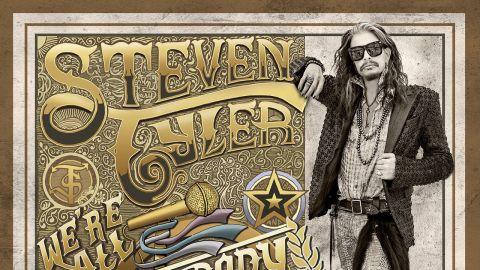 The cover art for Steven Tyler's We're All Somebody From Somewhere