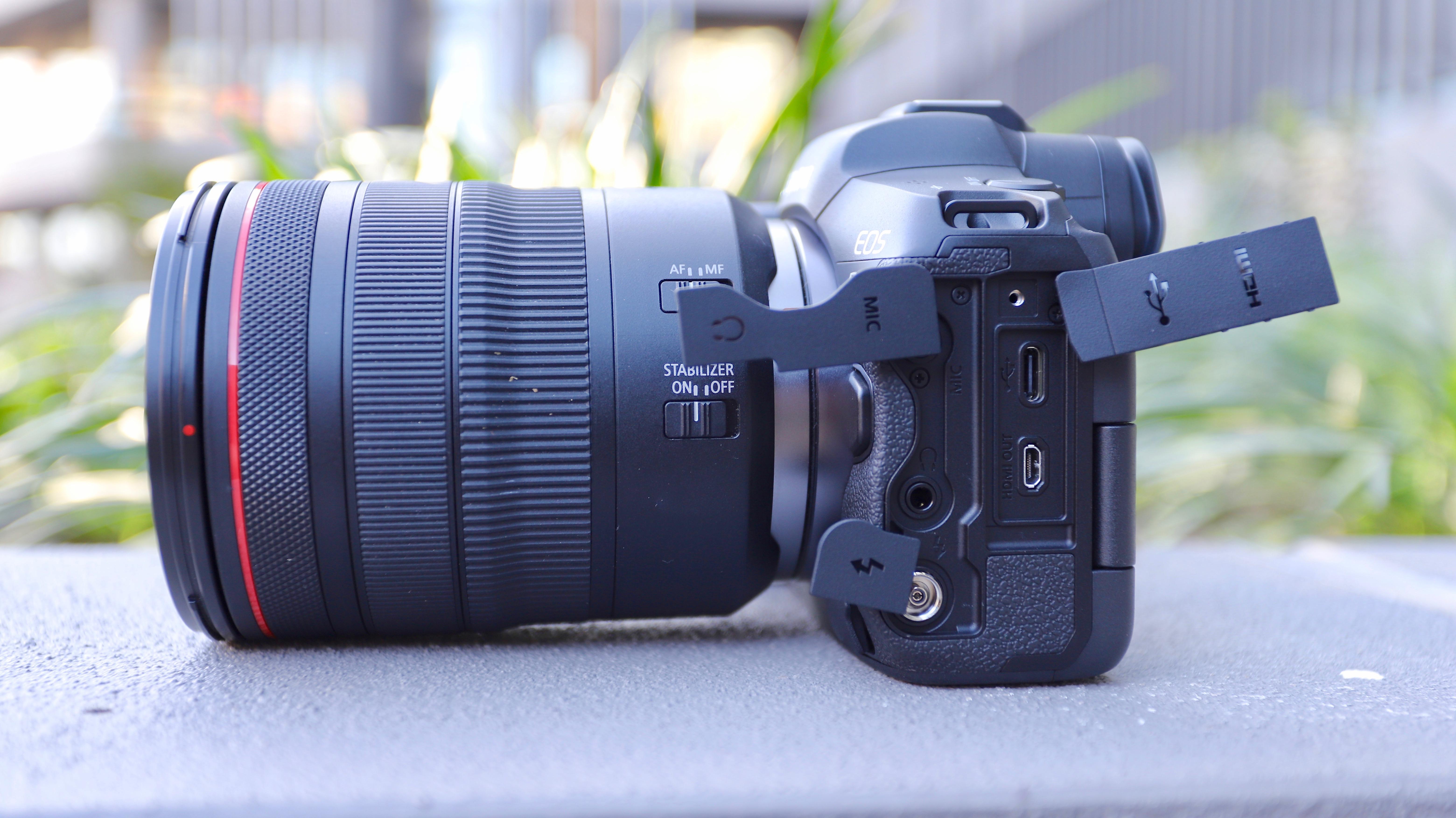 Canon EOS R5 ports