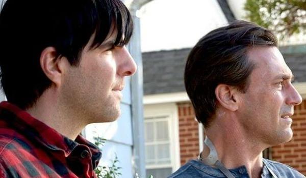 Zachary Quinto and Jon Hamm in Aardvark