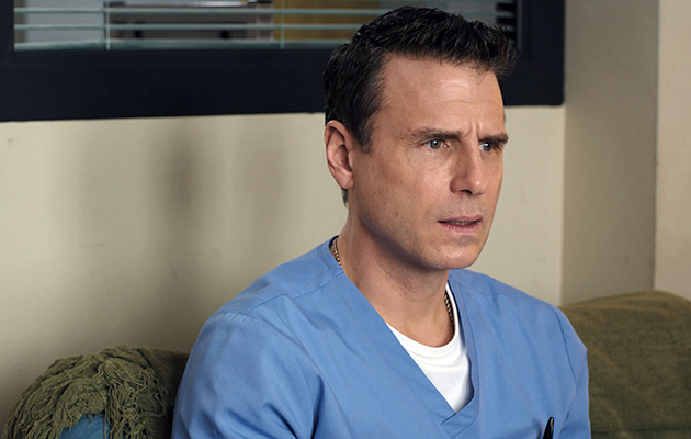 Nurse David Hide's future at Holby ED is uncertain after Charlie reports him for assault