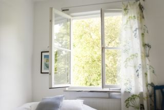 opening a window is a form of natural ventilation