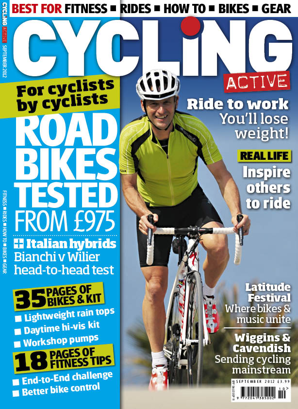 Cycling Active September 2012 issue