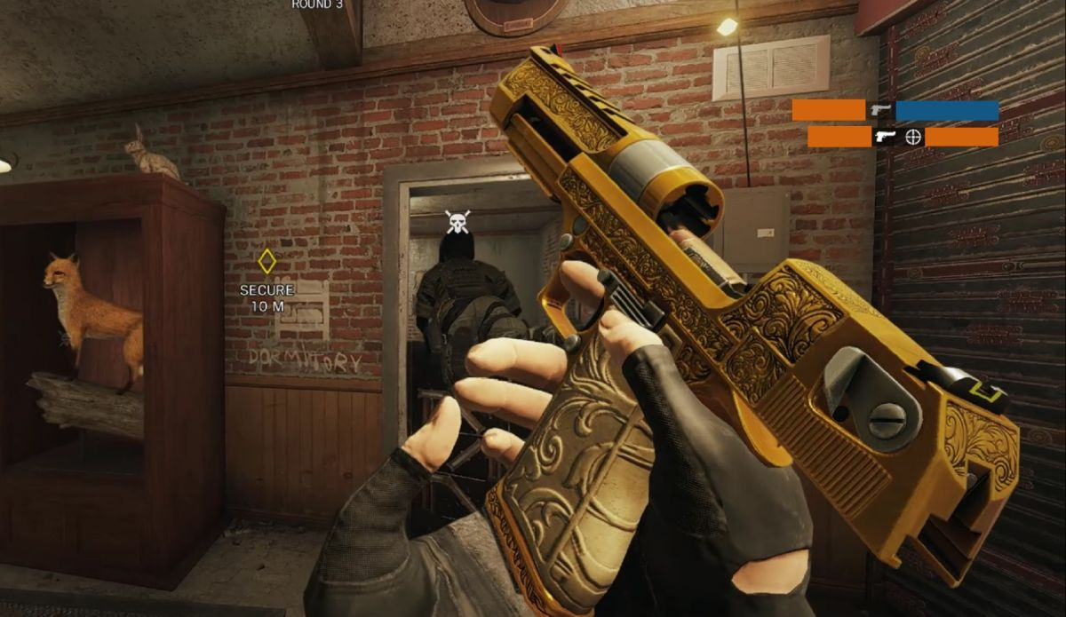 Rainbow Six Siege's Golden Gun mode is the perfect debut for the Arcade playlist