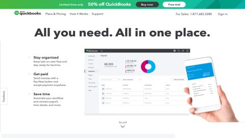 QuickBooks Online review | TechRadar