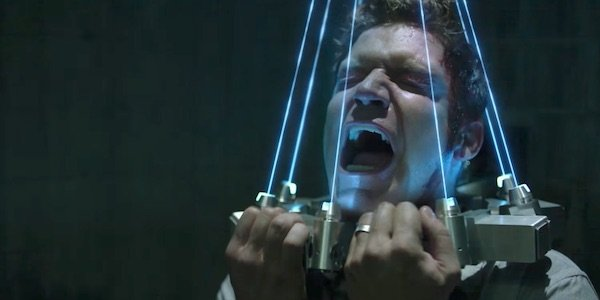 Jigsaw laser trap