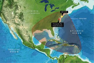 America's Largest Asteroid Impact Left a Trail of Destruction Across the Eastern United States | Live Science