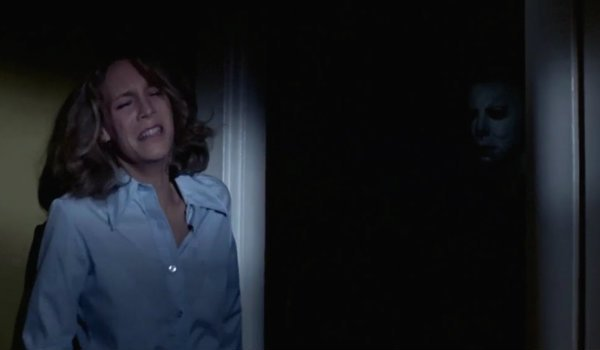 Michael Myers shadows halloween laurie strode Jamie lee curtis