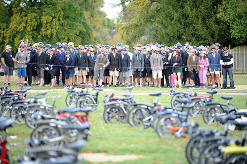 Brompton world champs, Bike Blenheim Palace 2009