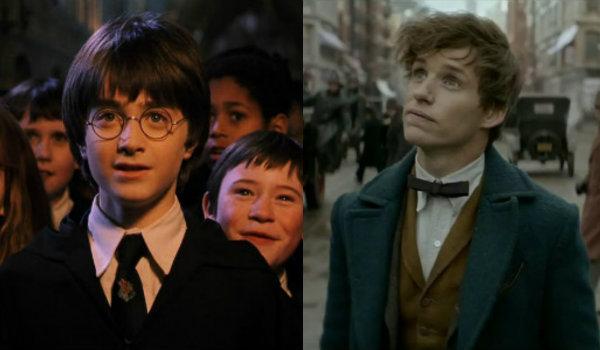 Harry potter newt scamander