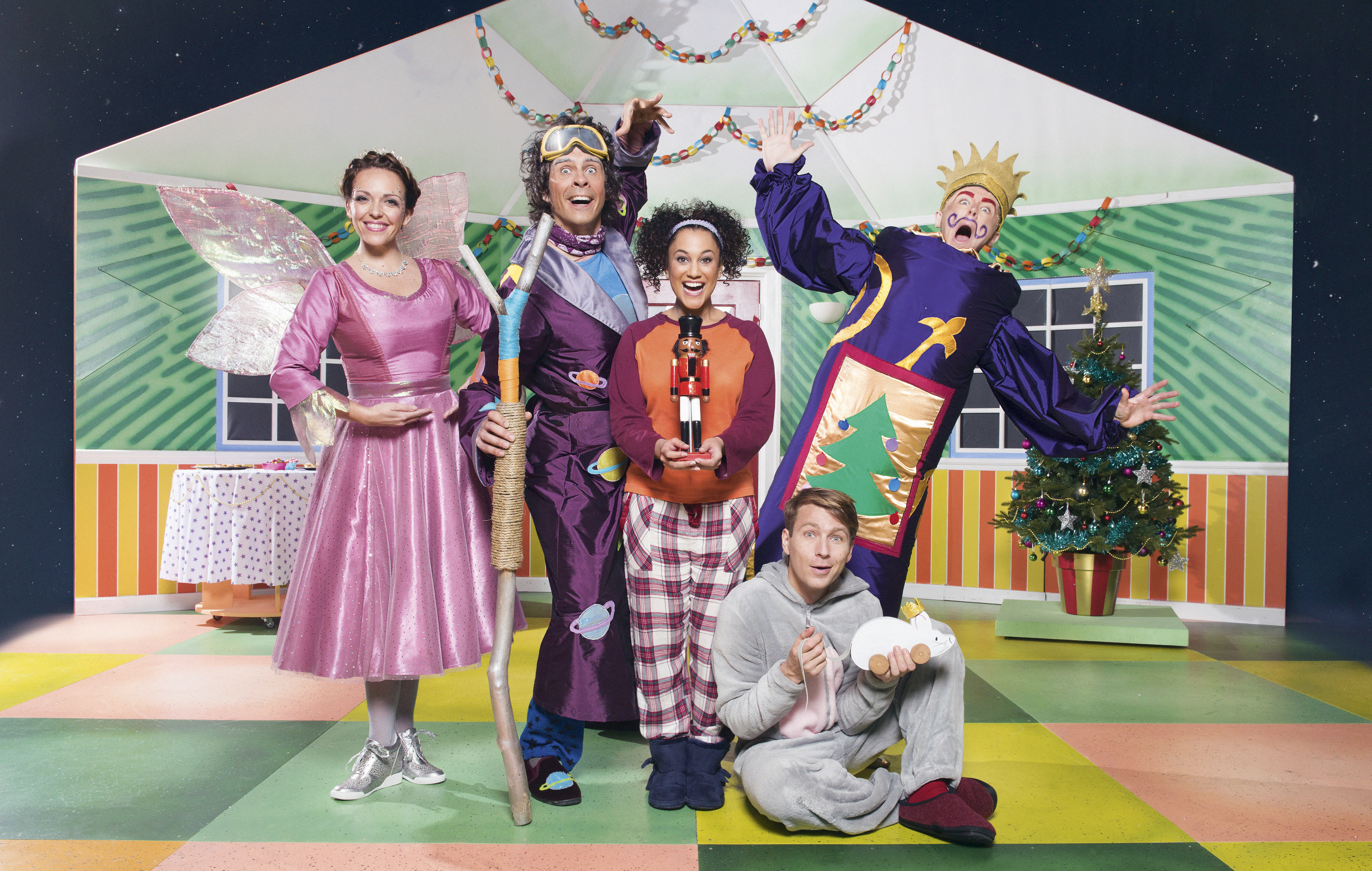 The CBeebies panto is always a highlight of the festive TV schedules