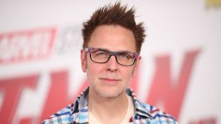 James Gunn at a Marvel event for Ant-Man and the Wasp