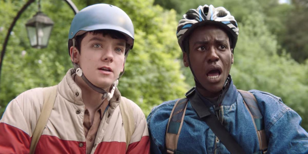 sex education otis eric bike helmets season 1 netflix