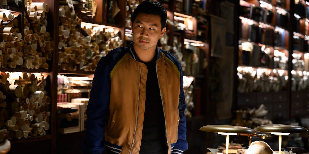 Simu Liu in Shang-CHi and the Legend of the 10 Rings