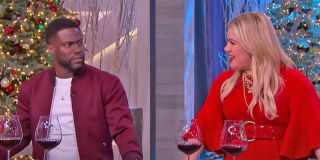 Kevin Hart and Kelly Clarkson on The Kelly Clarkson Show screenshot