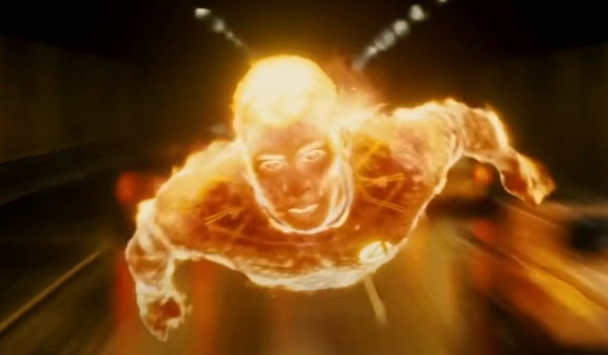 Human Torch Fantastic Four: Rise Of The Silver Surfer