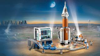 Best Lego City sets: rocket launcher