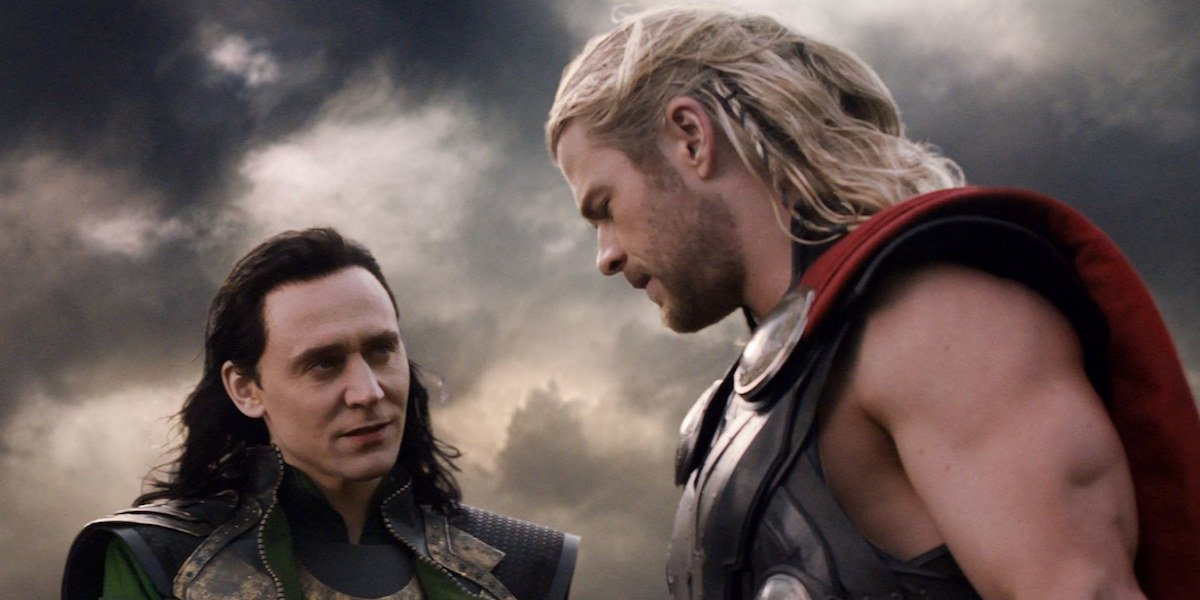 Loki and Thor in The Dark World
