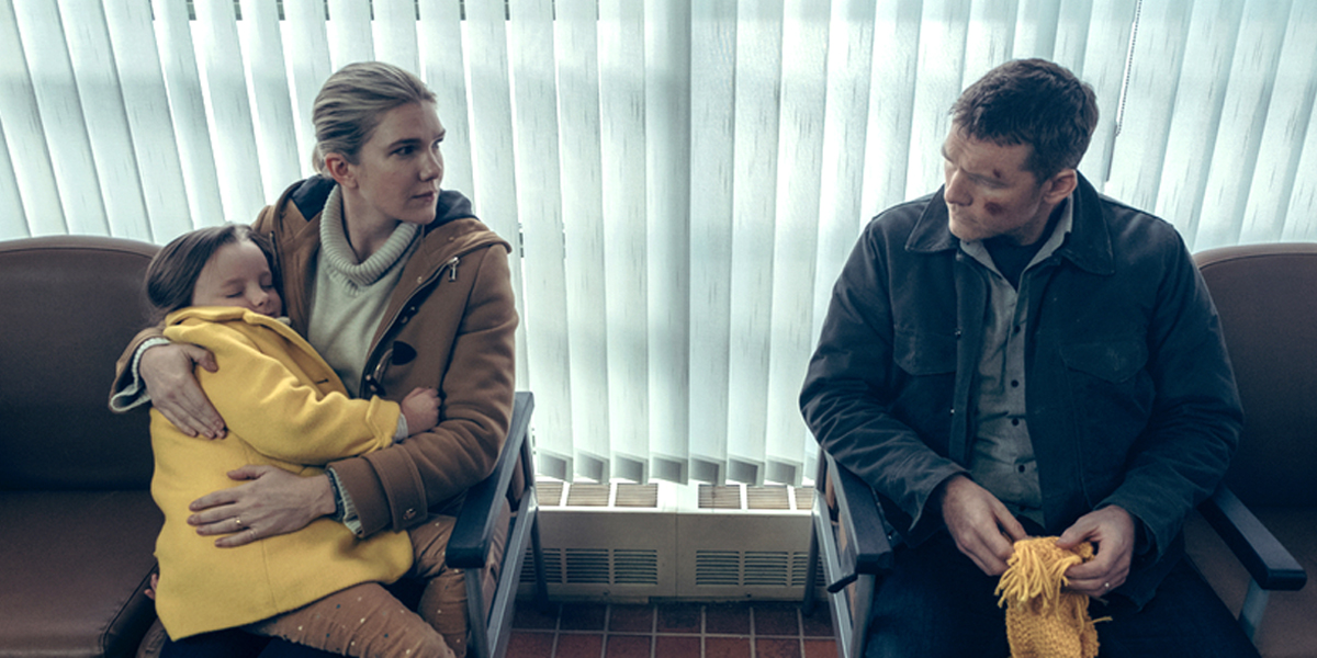 Fractured Lily Rabe Sam Worthington in hospital Netflix