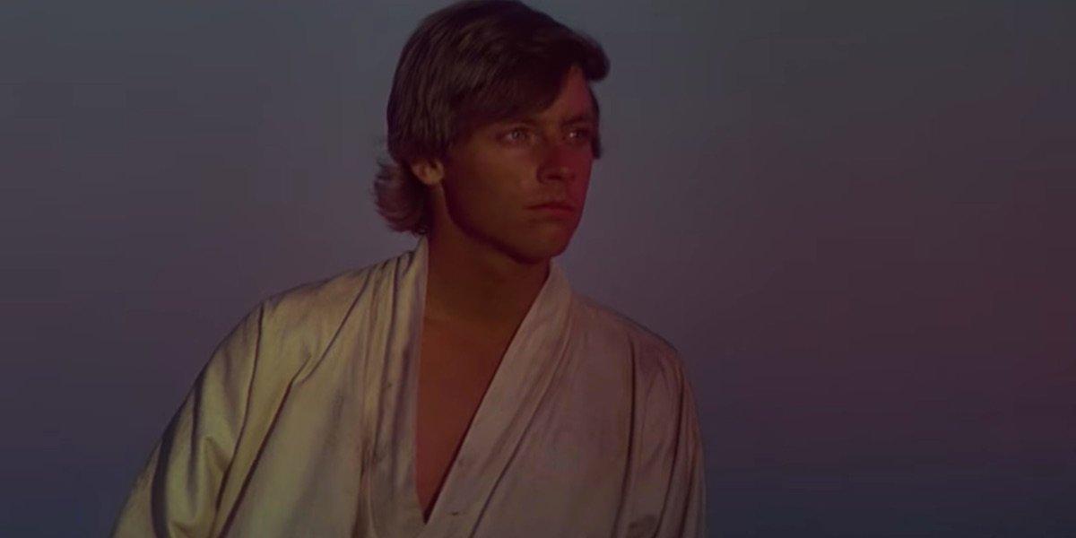 Luke Skywalker in A New Hope
