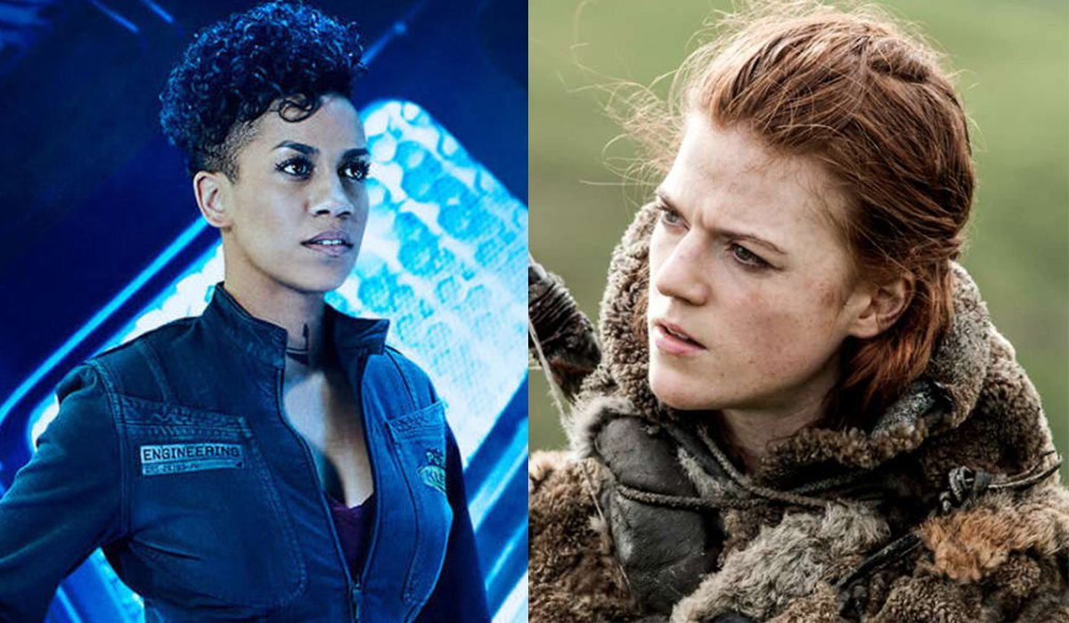 The Expanse Naomi Game of Thrones Ygritte