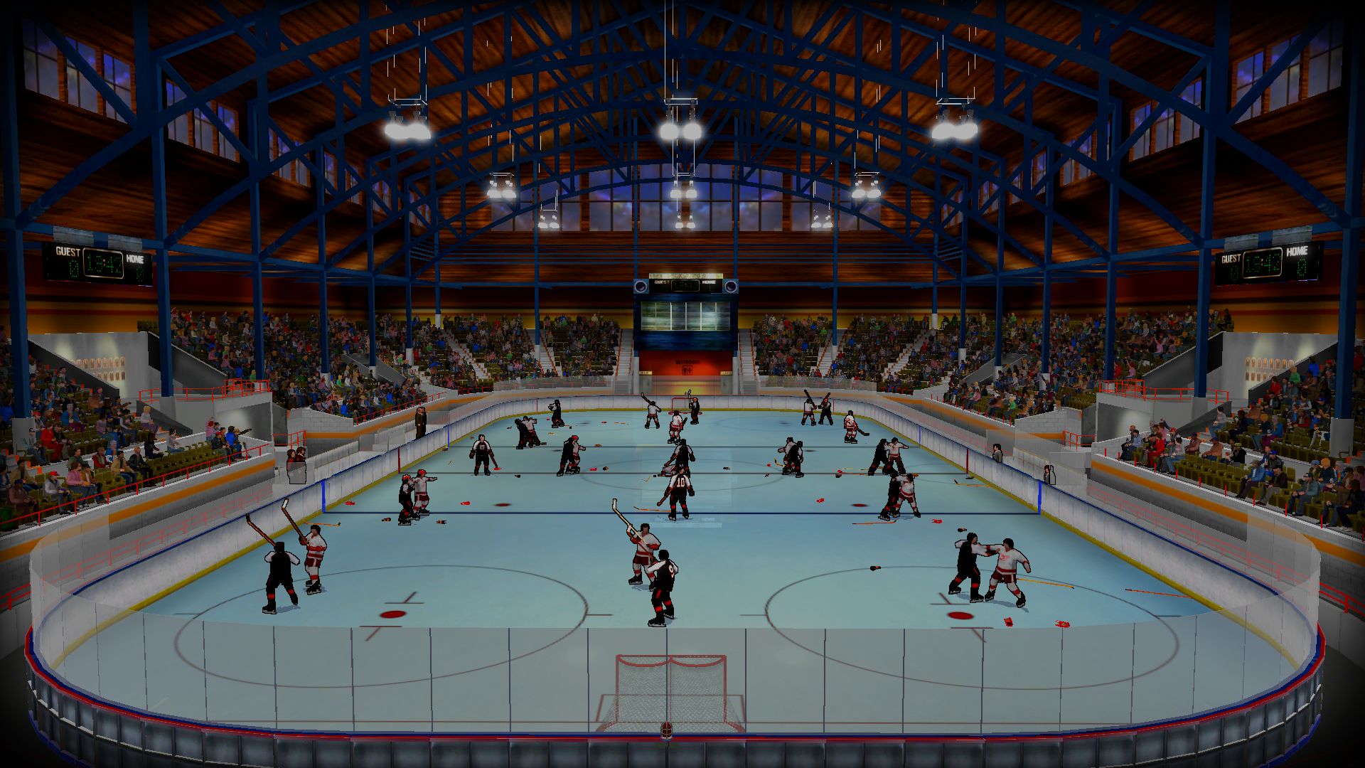 The Pc Is Finally Getting A Hockey Game And It S Straight Outta The