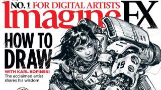 ImagineFX issue 192 artwork