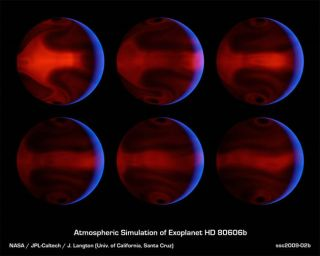 Exoplanet Sees Extreme Heat Waves