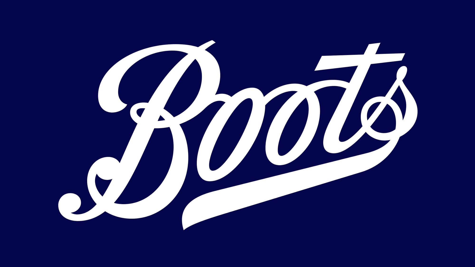 Boots reveals biggest logo redesign in