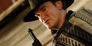 Quentin Tarantino on The Hateful Eight set