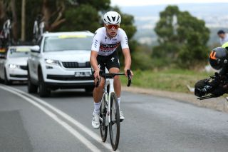 Luke Plapp (InForm TMX Make) during the Australian Road Championships where he finished 17th in the elite men's road race