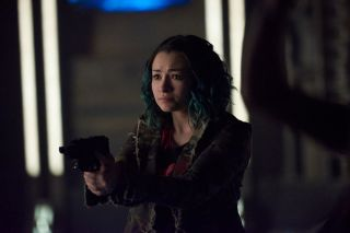 Jodelle Ferland Plays 'Five' in 'Dark Matter'