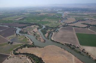 San Joaquin river diversions