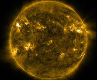 Solar Flare Furry of Eruptions March