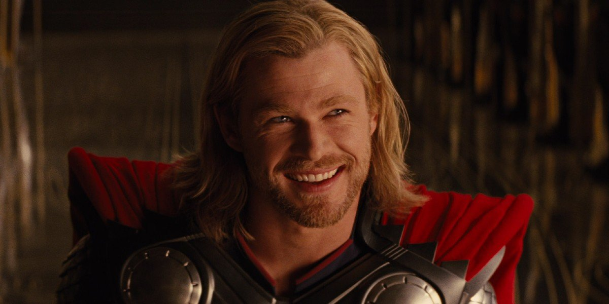 Chris Hemsworth as Thor in Thor (2011)