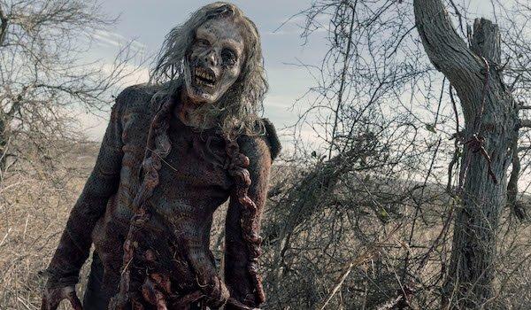 fear the walking dead zombie guts tied to a tree