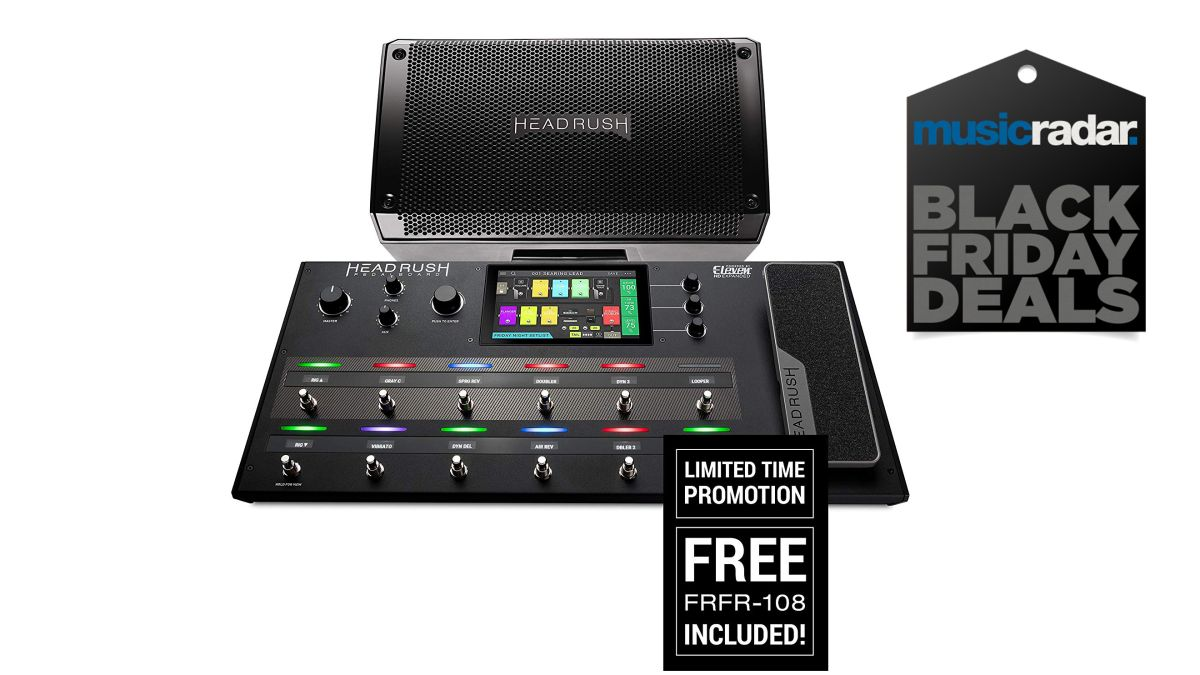 black friday effects bargain free frfr 108 cab with a headrush pedalboard musicradar. Black Bedroom Furniture Sets. Home Design Ideas