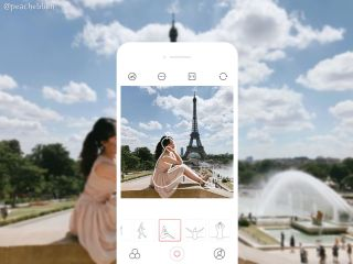Phone app helps non-photographers compose perfect shots