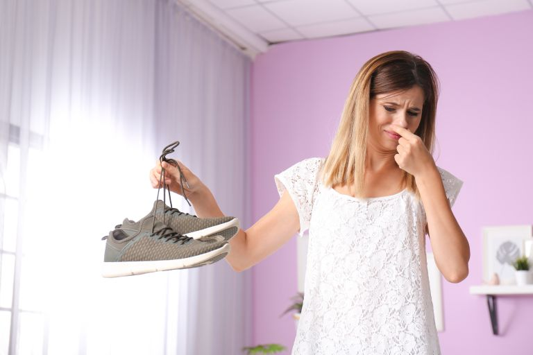 House smells musty: Nasty musty smell from trainers