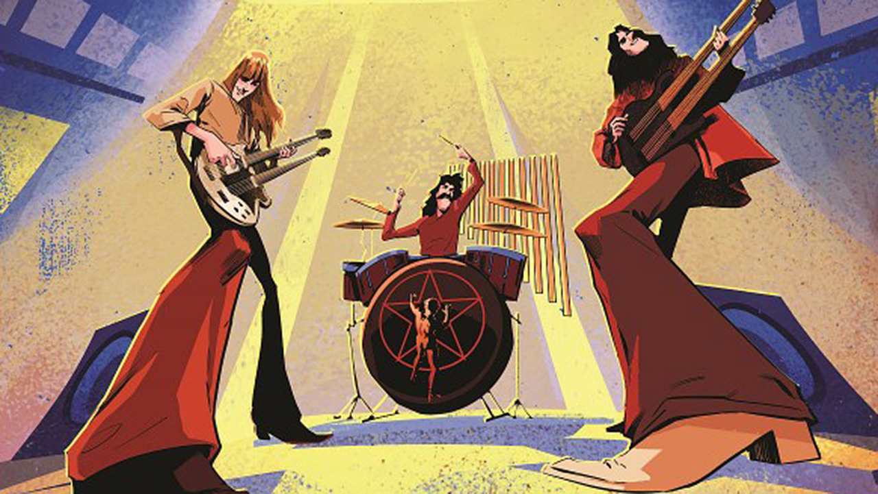 Rush announce A Farewell To Kings graphic novel