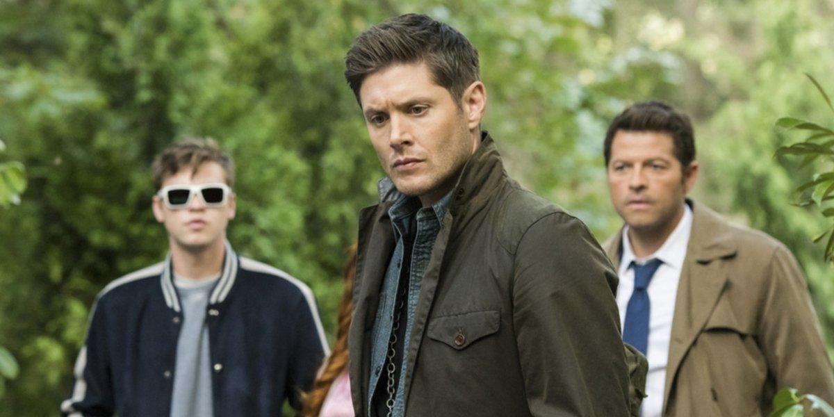 supernatural season 15 belphegor dean castiel