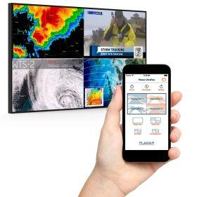 Planar Systems Develops iOS App