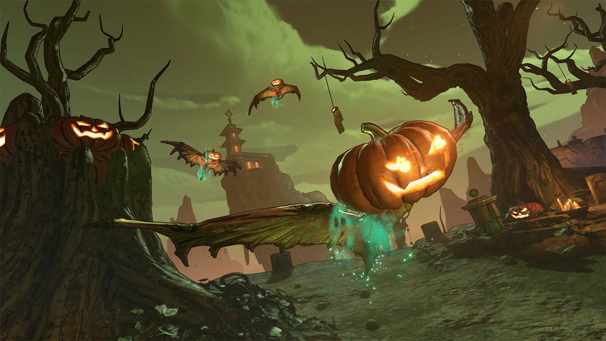 Gearbox reveals Borderlands 3's free Halloween-themed event